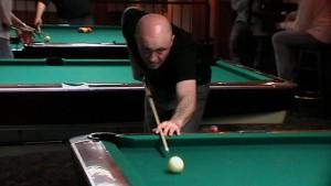 Sean playing pool 2