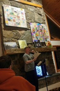 Reading at Bethel Woods Arts Center 2016
